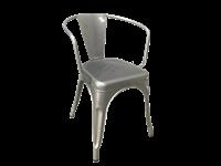 SOHO - Chaise en métal - GALVANISÉ