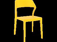 SNOW - Chaise en résine - JAUNE