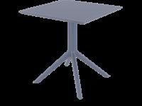 SKY - Table en résine - DARK GREY