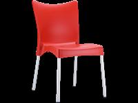JULIETTE - Chaise en résine - RED