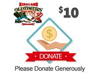 $10 - KOHL Tournament Charity Drive
