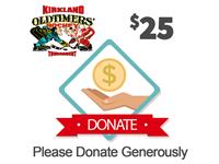 $25 - KOHL Tournament Charity Drive