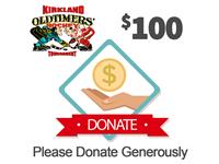 $100 - KOHL Tournament Charity Drive