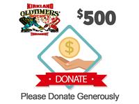 $500 - KOHL Tournament Charity Drive