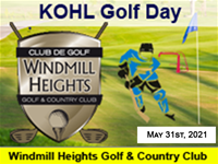 KOHL Golf Day (Monday  May 31, 2021)