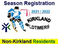 KOHL Season Registration (NON-Kirkland Resident) - 2021/22