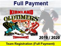 Full Payment: Team Registration  (KOHT)