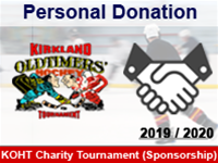 Personal Donation (KOHT)