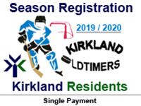 KOHL Season Registration (Kirkland Resident)