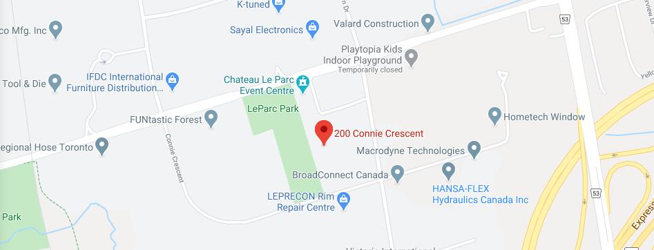 Contact Us - Ontario Map
