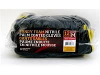 Sandy Foam Nitrile Palm Coated Gloves (Medium, Pair)