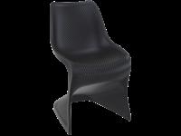 BLOOM - Chaise en résine - BLACK