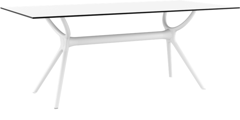 "<meta charset=""UTF-8"">AIR - Table en résine - 180X90 cm - BLANC"