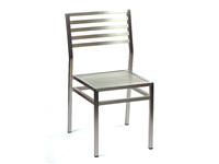 NORWAY - Chaise Aluminium - Empilable