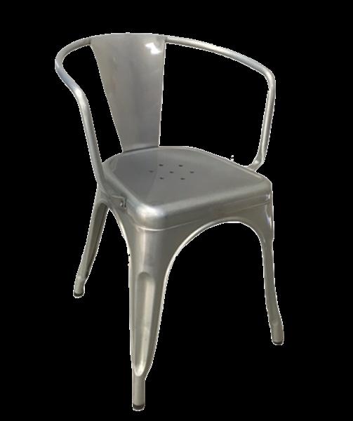 """<meta charset=""""UTF-8"""">SOHO - Chaise en métal- GALVANIS?"""