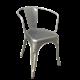 SOHO - Metal Chair - GALVANIZED