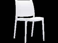 MAYA - Resin Chair - WHITE