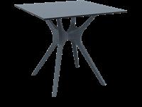 IBIZA - Table - 80X80cm - CHARCOAL
