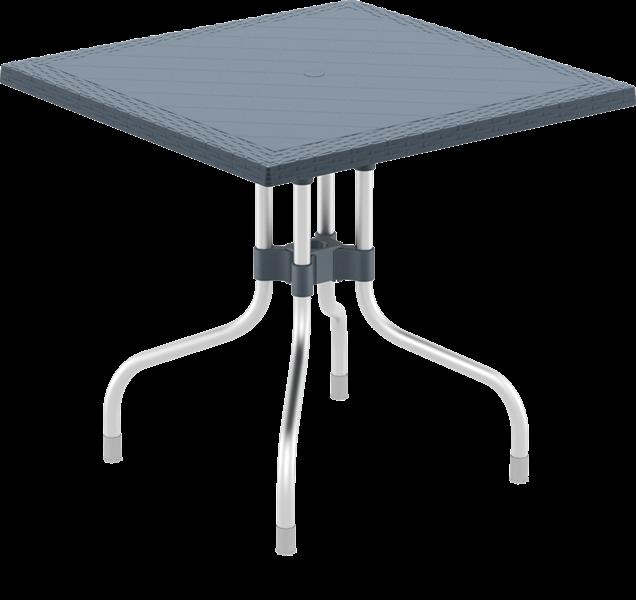 "<meta charset=""UTF-8"">FORZA - Table - 80x80cm - ANTHRACITE"