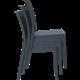 FLORIDA - Resin Chair - CHOCOLATE