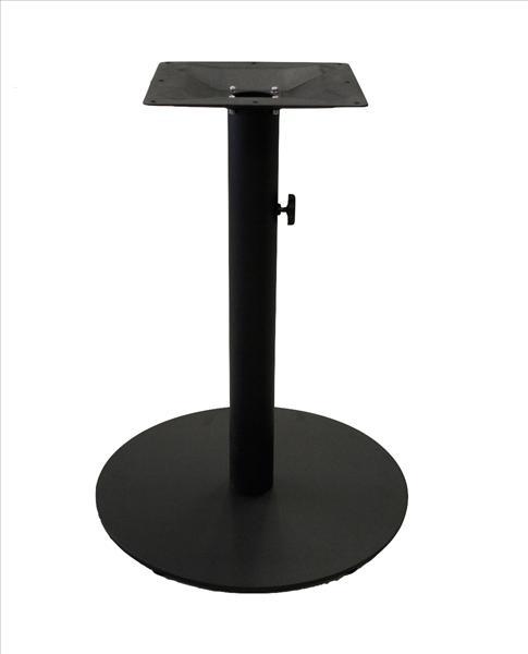 """<meta charset=""""UTF-8"""">Base de table pour parasol en métal- NOIR MAT"""