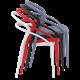 PIA - Resin Chair - WHITE