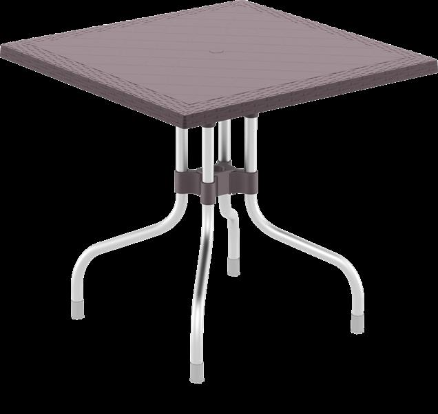 "<meta charset=""UTF-8"">FORZA - Table - 80x80cm - CHOCOLAT"