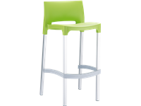GIO - Tabouret en résine - LIGHT GREEN