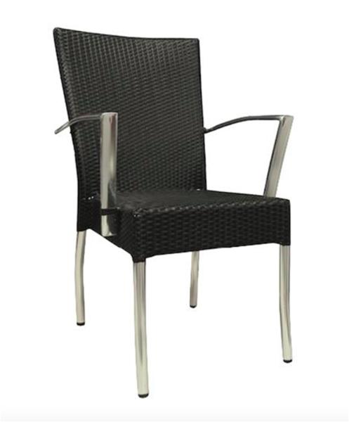 """<meta charset=""""UTF-8"""">ROYAL - Chaise en aluminium avec BRAS"""