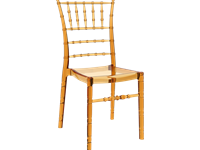 CHIAVARI - Chaise en polycarbonate - GLOSSY WHITE
