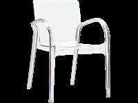DEJAVU - Chaise en polycarbonate - CLEAR TRANSPARENT