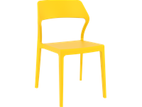 SNOW - Resin Chair - YELLOW