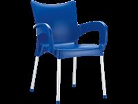 ROMEO - Chaise en résine - BLUE