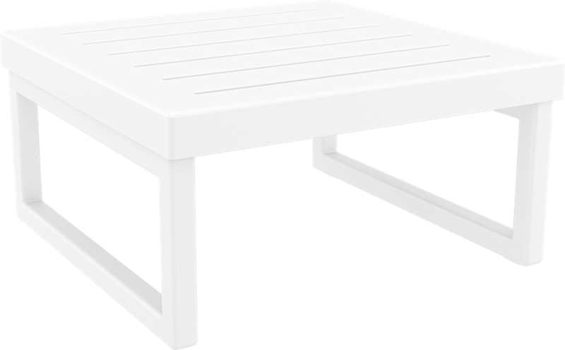 "<meta charset=""UTF-8"">MYKONOS - Table de salon en résine- BLANC"
