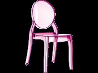 ELIZABETH - Chaise en polycarbonate - PINK