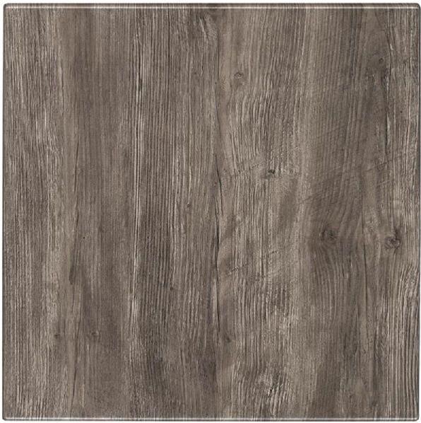 Werzalit - Dessus de Table - 179 - PONDEROSA GREY - 70x70cm