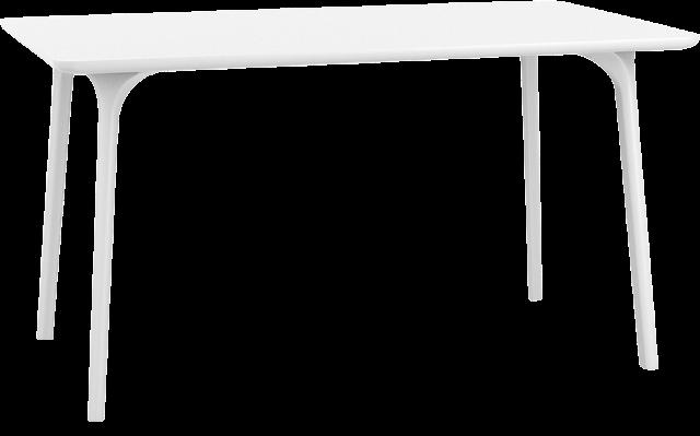 "<meta charset=""UTF-8"">MAYA - HPL Table - 80x140x75cm - BLANC"