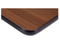 Dessus de table - Stratifié BROWN - 36x18x1/4""