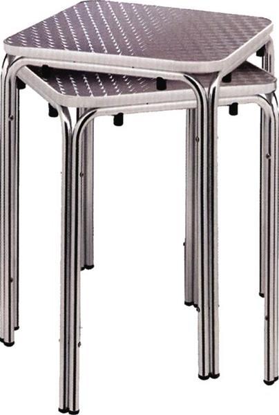 """<meta charset=""""UTF-8"""">Base en aluminium - Empilable - Pour les dessus de table de 60x60cm (24x24in)"""