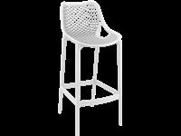 AIR - Tabouret en résine - Hauteur 75 cm - WHITE