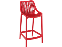 AIR - Tabouret en résine - Hauteur 65 cm - RED