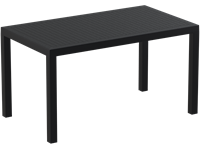 ARES - Table en résine - 80x140cm - BLACK