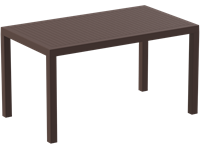 ARES - Table en résine - 80x140cm - BROWN