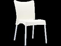 JULIETTE - Chaise en résine - BEIGE