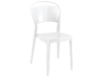 BO - Resin Chair - GLOSSY WHITE