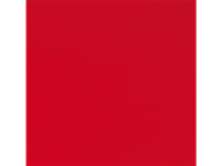 Werzalit - Dessus de table - 328 - RED - 80x80cm
