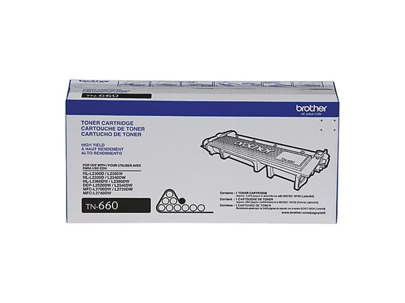 Compatible 5-Pack Brother TN660 High Yield Toner Cartridge