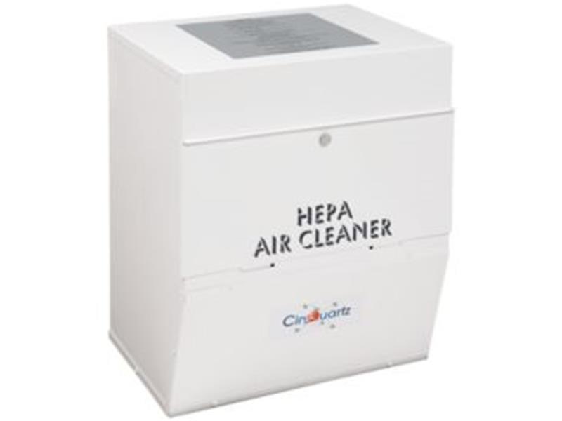 CinQuartz  Duct Mount HEPA Air Cleaner 320 cfm  White Powder Coat