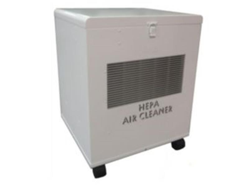 CinQuartz® Portable True HEPA Air Cleaner on Wheels, up to 305 cfm, White Powder Coat