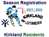 KOHL Season Registration (Kirkland Resident) - 2021/22